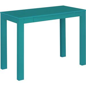 Ameriwood Home Parsons Desk with Drawer - Teal