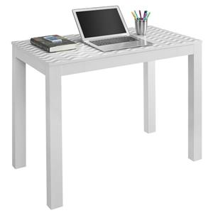 Ameriwood Home Parsons Desk with Drawer - Chevron