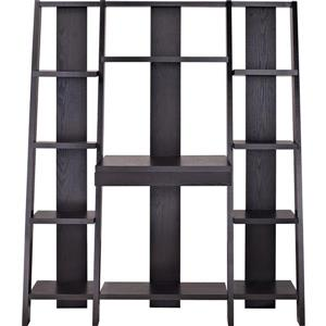 Ameriwood Home Tiffany Ladder Desk/Bookcase - Espresso