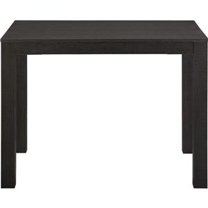 Ameriwood Home Parsons Desk with Drawer - Black Oak