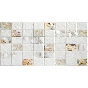 Dundee Deco PVC Wall Panel - Shells Starfish Mosaic