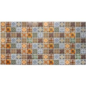Dundee Deco 3D Wall Panel - Multicolor Abstract Fractal Patterns