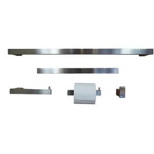 BOANN Sweden Bathroom Accessory Set - 5 PK - Brushed Nickel