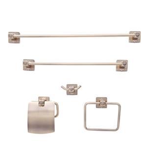 Dyconn Faucet Reno Euro Bathroom Accessory Set - 5 PK - Oil-Rubbed Bronze