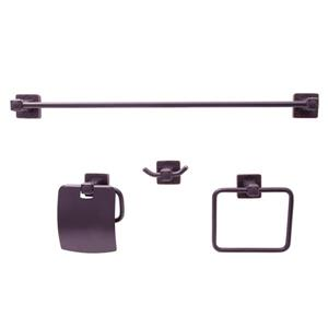 Dyconn Faucet Reno Euro Bathroom Accessory Set - 4 PK - Oil-Rubbed Bronze