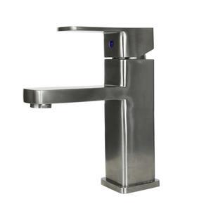 "BOANN Heidi 1-Handle Bathroom Faucet - 7.3"" - Stainless Steel"