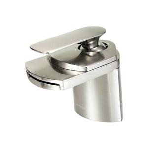 "Dyconn Faucet Marble Waterfall Bathroom Faucet - 4.5"" - Brushed Nickel"