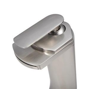 "Dyconn Faucet Blanco Vessel Bathroom Faucet - 11"" - Brushed Nickel"