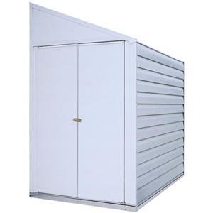 Arrow Yardsaver® Steel Storage Shed - 4' x 7' - Off-White