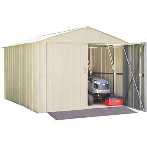 Arrow Commander® Steel Storage Unit - 10' x 10, - Off ...