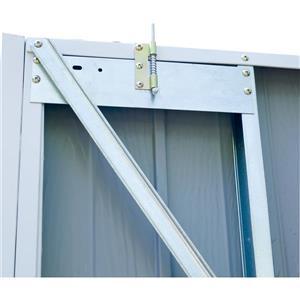 Arrow Commander® Steel Storage Unit - 10' x 10, - Off-White