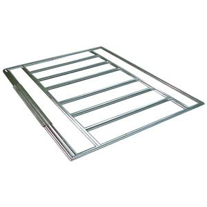 Arrow Shed Floor Frame Kit for 4' x 7' and 4' x 10' - Silver