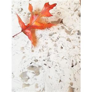 Lukx Bold Damian Vanity with Quartz Top - 48-in - Antique White
