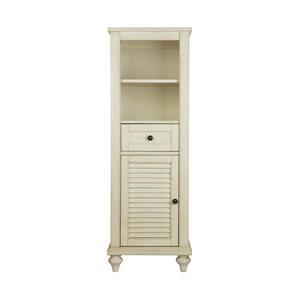 Foremost Fairchild Linen Cabinet - Antique White - 18-in