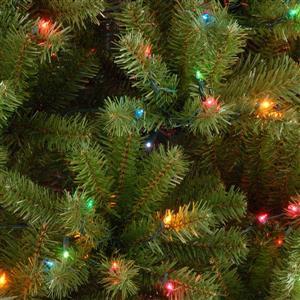 North Valley® Spruce Christmas Tree with Multicoloured ...