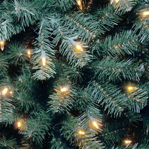 North Valley® Spruce Christmas Tree with Clear Lights - 6 ...