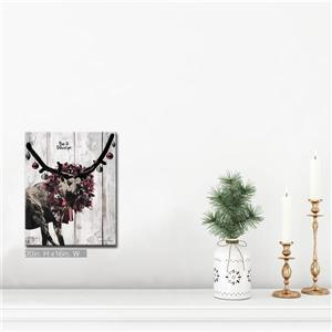 Ready2HangArt Wall Art Christmas Dancer Canvas 16-in x 20-in - Brown