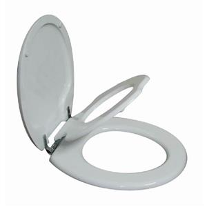 TinyHiney Round Child & Adult Gentle Close Lid Toilet Seat