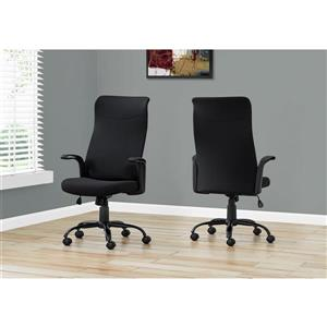 Monarch office Chair - Multi-Position - Black Fabric