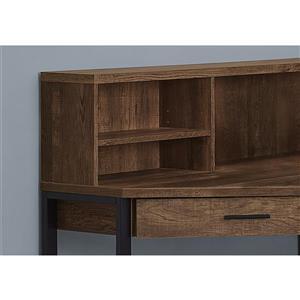 Monarch Corner Computer Desk - Brown Reclaimed Wood - 48-in