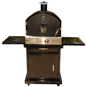 Pacific Living Outdoor Pizza Oven - Stand cart - Black