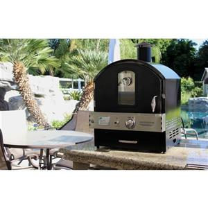 Pacific Living Outdoor Gas Pizza Oven - Black | Lowe's Canada