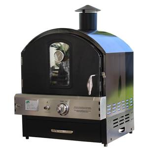 Pacific Living Outdoor Gas Pizza Oven - Black