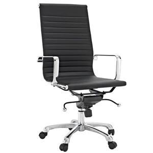 Plata Decor Toni High Back Executive Chair - Black