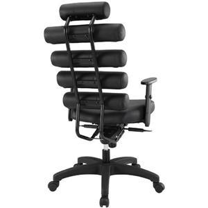 Plata Decor Moon High Back Executive Office Chair - Black