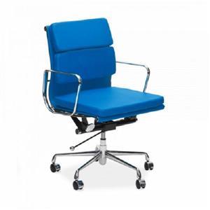 Plata Decor Lark Low Back Executive Office Chair - Blue