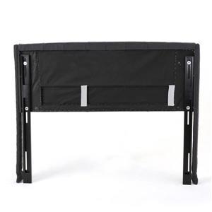 Best Selling Home Decor Parquet Tufted Fabric Headboard - Queen - Dark Grey