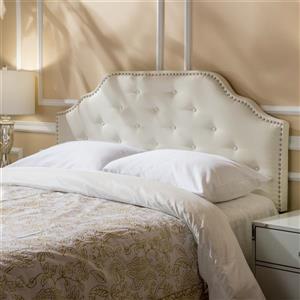 Best Selling Home Decor Topanga Fabric Headboard - Full/Queen - Off-white