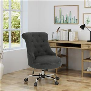 Best Selling Home Decor Lilith Home Office Chair - Dark Gray