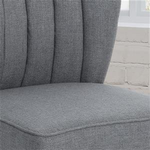 Best Selling Home Decor Muriel Contemporary Office Chair - Gray