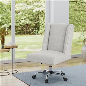 Best Selling Home Decor Sade Office Chair - Beige and Chrome