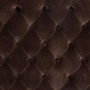 Best Selling Home Decor Rutherford Tufted Fabric Headboard - Queen - Brown
