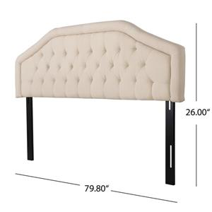 Best Selling Home Decor Felix Headboard - King/Cal King - Beige