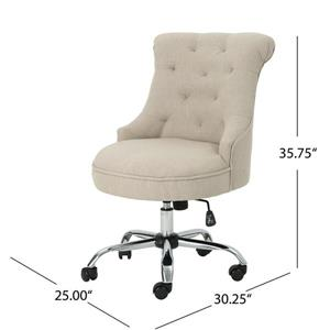 Best Selling Home Decor Lilith Home Office Chair - Beige