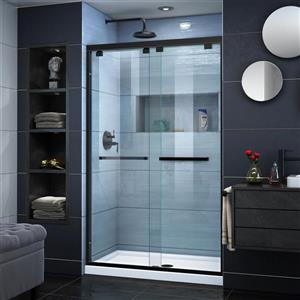 DreamLine Encore Alcove Shower Kit - 34-in x 48-in - Satin Black