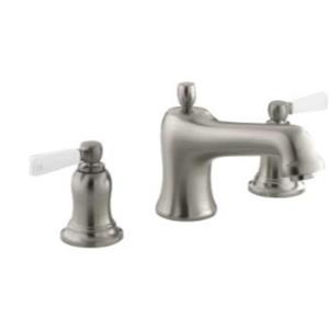 KOHLER Bancroft Widespread bathroom sink faucet - Vibrant Brushed Nickel