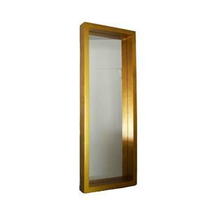 Plata Decor Gold Floor Mirror - 80-in x 30-in