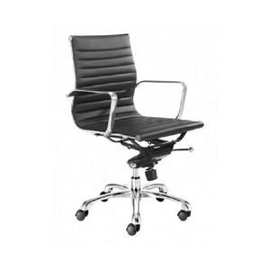 Plata Decor Toni Low Back Executive Chair - Black