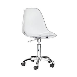 Plata Decor Eiffel Clear Chair - Height Adjustable