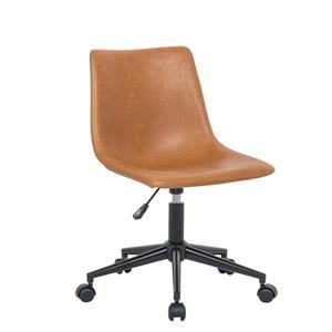 Plata Decor Solei Office Chair - Brown - 5-Wheels