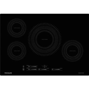 Frigidaire 30-in 4-Element Induction Cooktop (Black)
