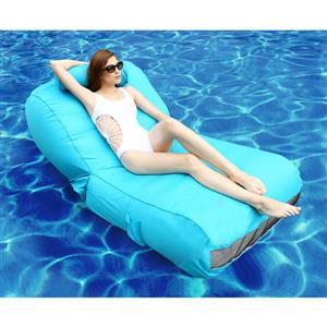 OVE Decors Aqua Pool Float Sun Lounger - Blue