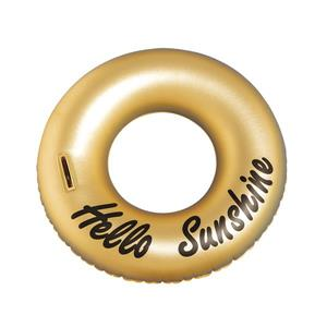 OVE Decors Ring Hello Sunshine Float Pool - Gold - 36-in