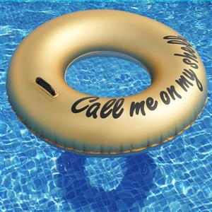 OVE Decors Ring Call Me on my Shell Float Pool - Gold - 36-in