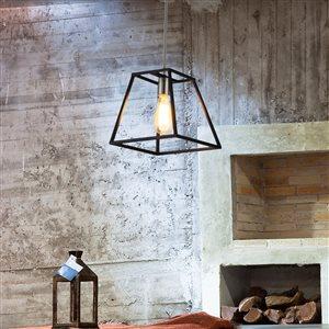 OVE Decors Agnes I LED Pendant Light - 1-Light - Black