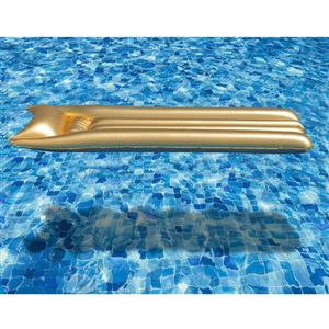 OVE Decors Mattress Float Pool - Gold - 72-in